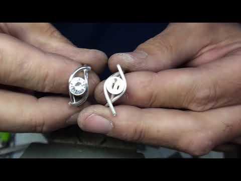 Semi Bezel Set Ring Preview