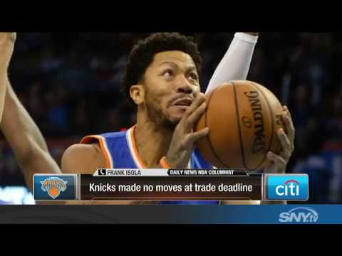 Video: The New York Knicks do nothing at the NBA Trade Deadline