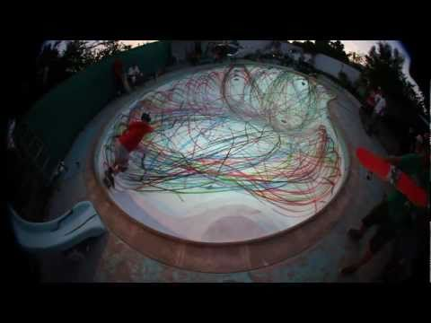 D*Face   Ridiculous Pool Paint Attack | Video