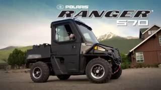 10. UTV-ul Polaris RANGER Mid Size 570