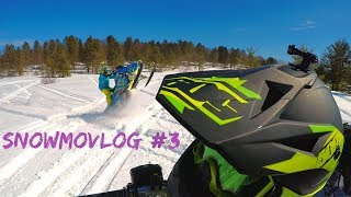 10. Bluebird day, thoughts on snowchecking an 850 Patriot and another channel? - Snowmovlog #3