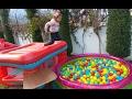 Download Lagu 3 top havuzu bahçede , eğlenceli çocuk videosu Mp3 Free