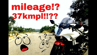 9. More than 37kms per litre??? | Mileage check | Hyosung Gt250R | Shell V-power