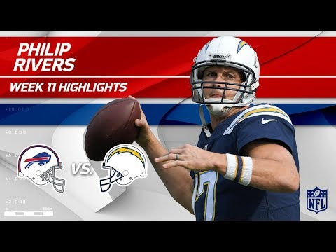 Video: Philip Rivers Leads LA to a Big Victory vs. Buffalo! | Bills vs. Chargers | Wk 11 Player Highlights