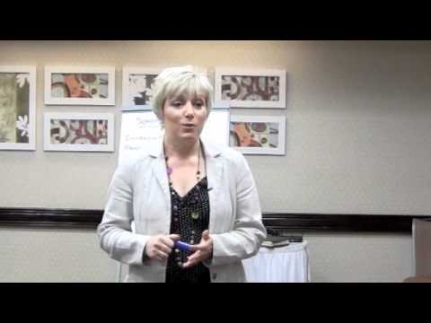 Sheila Granger and Marc Carlin Teaching gastric Band Hypnotherapy