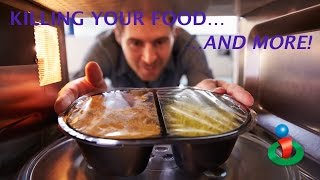 http://www.ihealthtube.com Dr. Leonard Coldwell talks about the long-term dangers of using microwave ovens. He says they kill ...