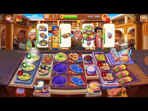 Level 311- 330 Cooking Madness - A Chef's Restaurant Games (3 Stars Only (Hard))