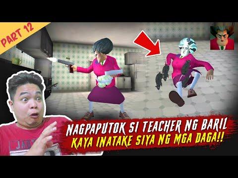 Tinutukan ako ng Baril ni Teacher - Scary Teacher Part 12