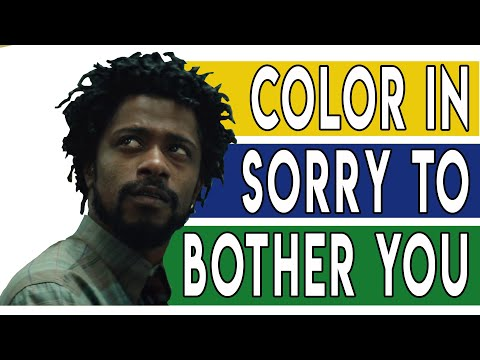 Yellow, Blue, and Cassius Green: Color in Sorry to Bother You