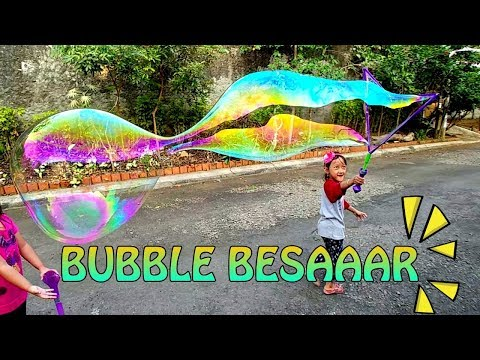 Mainan Gelembung Balon Raksasa | Giant Bubble - UNBELIEVA BUBBLE