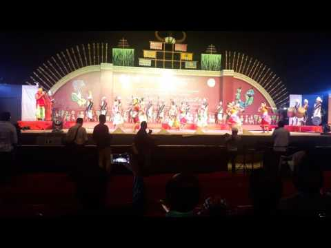 Video AADIRANG MAHOTSAV 2017.Tiwa fishing dance At Hydrabad Telengana National School of Drama, by Tirtha download in MP3, 3GP, MP4, WEBM, AVI, FLV January 2017