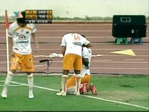 Primer gol de Jackson en la Primera División Mexicana