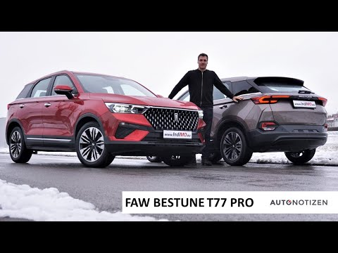 FAW Bestune T77 Pro 2021: Full English Review / Testdrive of the China-SUV
