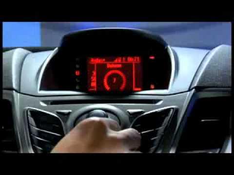 Ford Fiesta Sync demonstartion