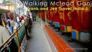 Dharamshala India  City pictures : Walking The Main Street Of Mcleodganj, Dharamshala - Frank & Jen Travel India 4