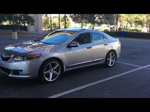 Acura TSX With KMC District Wheels