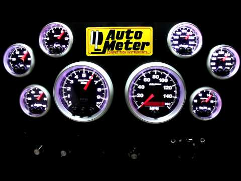 meter - These are the new Auto Meter Elite Series Gauges. Our most advanced gauges ever, these are what you'll find in our NASCAR teams this season. This video gives...