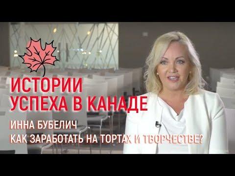 Инна Бубелич: как заработать на тортах и творчестве?