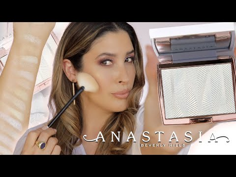 ANASTASIA BEVERLY HILLS ICED OUT Highlighter Swatches Review Comparisons ABH AMREZY + Other 17 OG 😱
