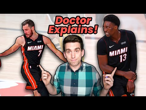 Goran Dragic & Bam Adebayo BOTH(!) INJURED in NBA Finals Game 1 - Doctor Explains!