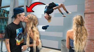 FLIPS FOR KISSES WITH HOT GIRLS!