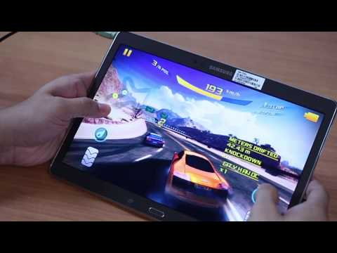 Gaming on Samsung Galaxy Tab S (10.5 inch)