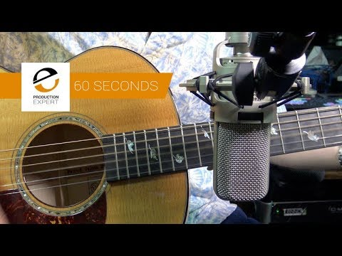 Recording Acoustic Guitar – Fit It In A Minute