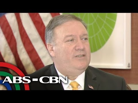 ANC's one-on-one with US Secretary of State Mike Pompeo