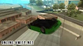 GTA ONLINE AMITY - Infernus Stunt by FIRST553