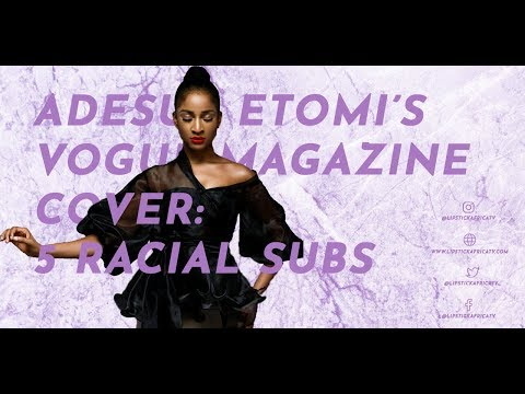 "Adesua Etomi""s Vogue Magazine Cover: 5 Racial Subs"
