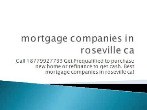 mortgage companies in roseville ca