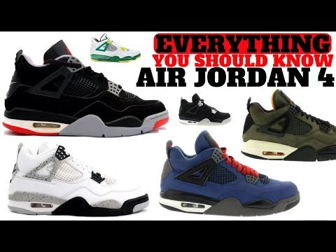 EVERYTHING You Need To Know About The AIR JORDAN 4! History Meets Hype