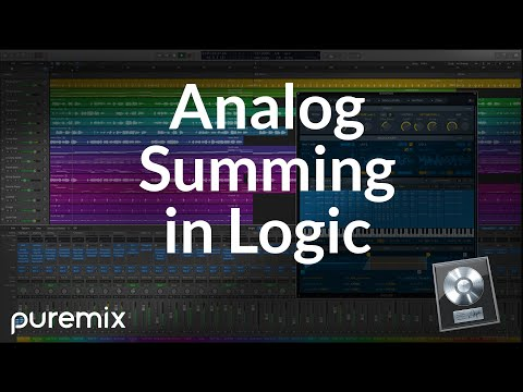 Analog Summing: Logic Session Setup