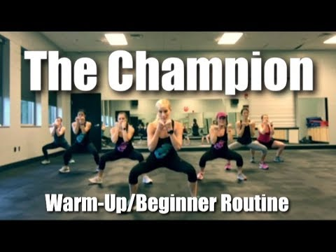 Video Carrie Underwood featuring Ludacris - The Champion | Cardio Party Mashup Fitness Routine download in MP3, 3GP, MP4, WEBM, AVI, FLV January 2017