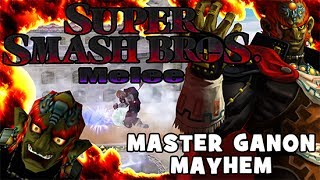 What happens when you put 4 super OP modded Ganondorfs in a match? This!