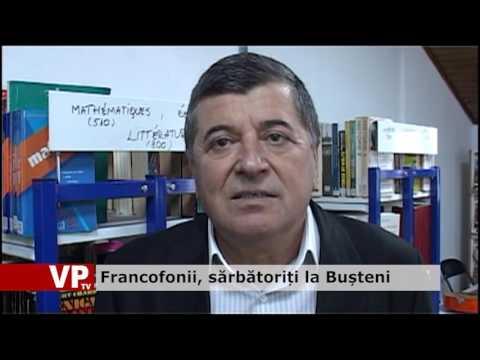 Francofonii, sărbătoriți la Bușteni