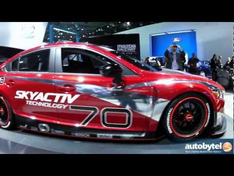 Mazda6 SKYACTIV Diesel Race Car At The 2013 Detroit Auto Show