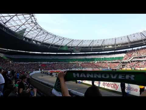 Hannover 96 ggn Werder Bremen | Choreographie [HD] (видео)