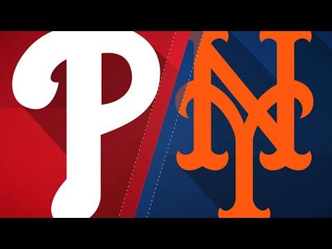 Nimmo's walk-off HR wins it for Mets in 10: 7/11/18