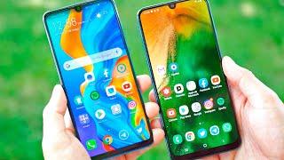 P30 Lite vs Galaxy A50, ¿Cuál Comprar?
