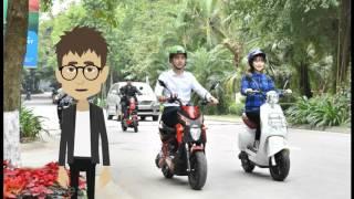 Quy định chở người trên đối với mô tô, xe gắn máy