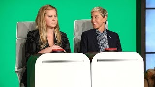 Video Amy Schumer Answers Ellen's Burning Questions MP3, 3GP, MP4, WEBM, AVI, FLV Juni 2018