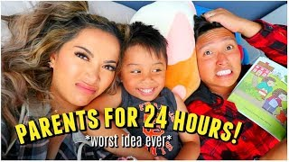 BECOMING PARENTS FOR 24 HOURS CHALLENGE! by ThatsHeart