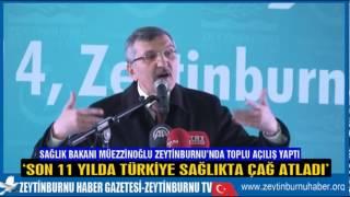 Müezzinoğlu Zeytinburnu'nda Toplu Açılış yaptı
