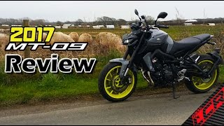 8. 2017 Yamaha MT-09 / FZ-09 Review | The ultimate sub 8k motorcycle?