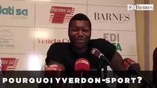 Djibril Cissé ne fait pas peur au FCC - video (1)