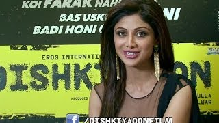 Shilpa Shetty invites you to follow 'Dishkiyaoon' on Facebook for all the latest updates