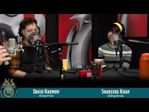 Dragon Talk: David Harmon & Shakeera Khan, 5/7/18