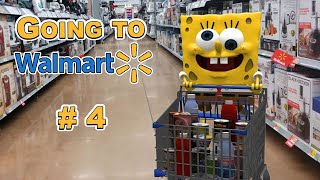 Going to Walmart (Part 4/4) - SpongeBob in real life