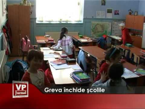 Greva închide şcolile